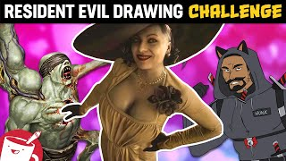 Drawing Resident Evil Enemies (We've Never Seen Before)