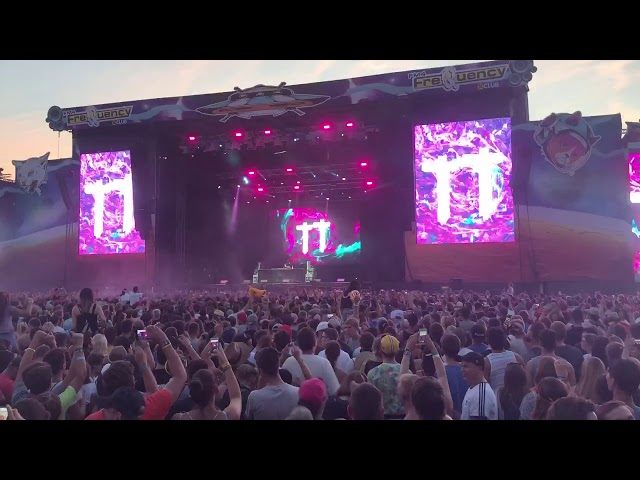 Timmy Trumpet at Frequency Festival 2018