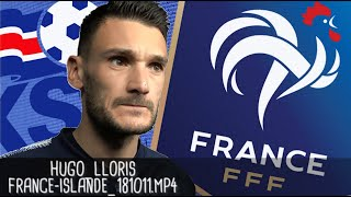 HUGO LLORIS APRÈS FRANCE - ISLANDE (2 - 2) / Guingamp - 12 octobre 2018