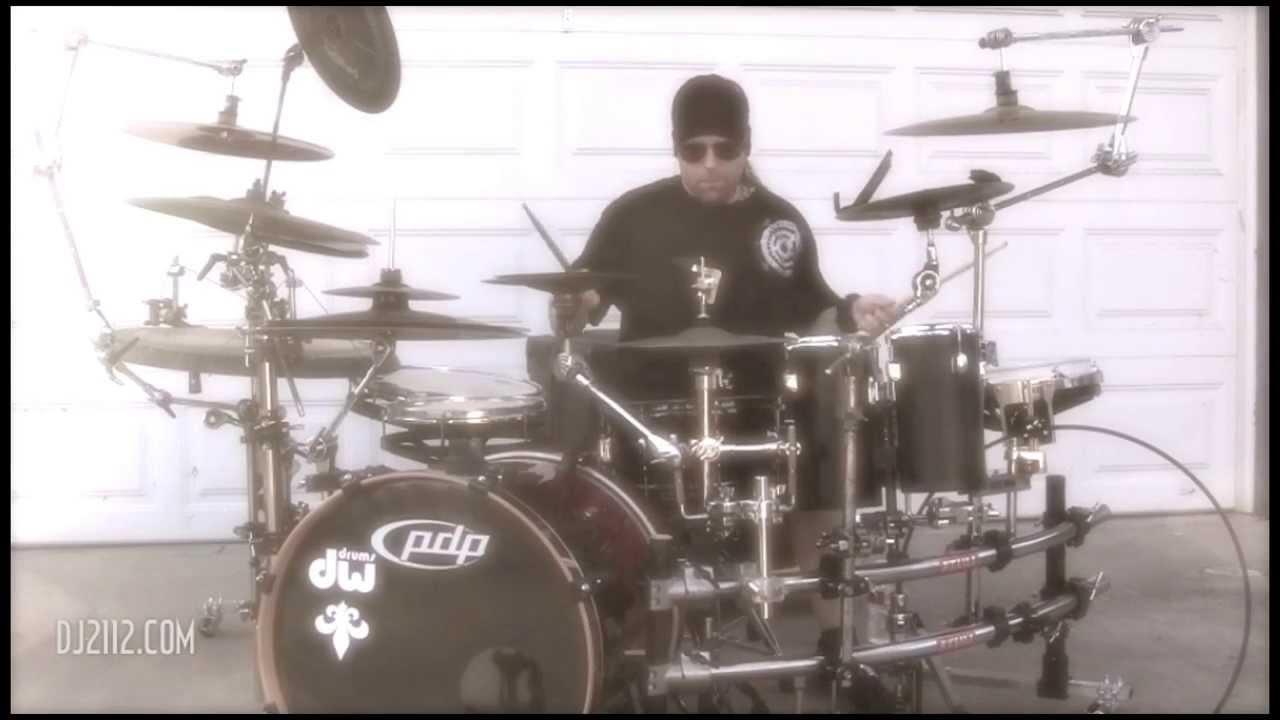 how to set up roland v drums rack