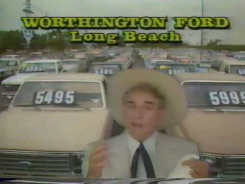 Cal Worthington Ford Anchorage >> Classic Commercial For Worthington Ford Featuring Cal Worthington