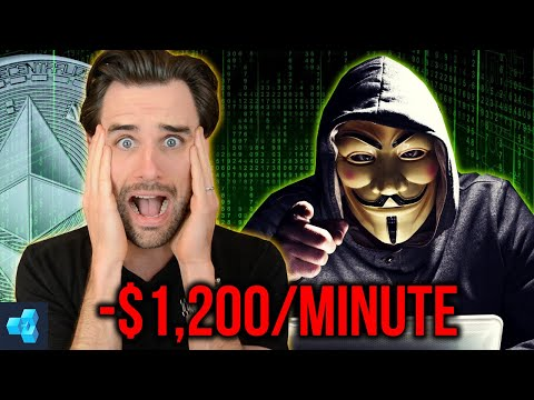 How Hacker Stole ALL My Cryptocurrency in 1 Minute!