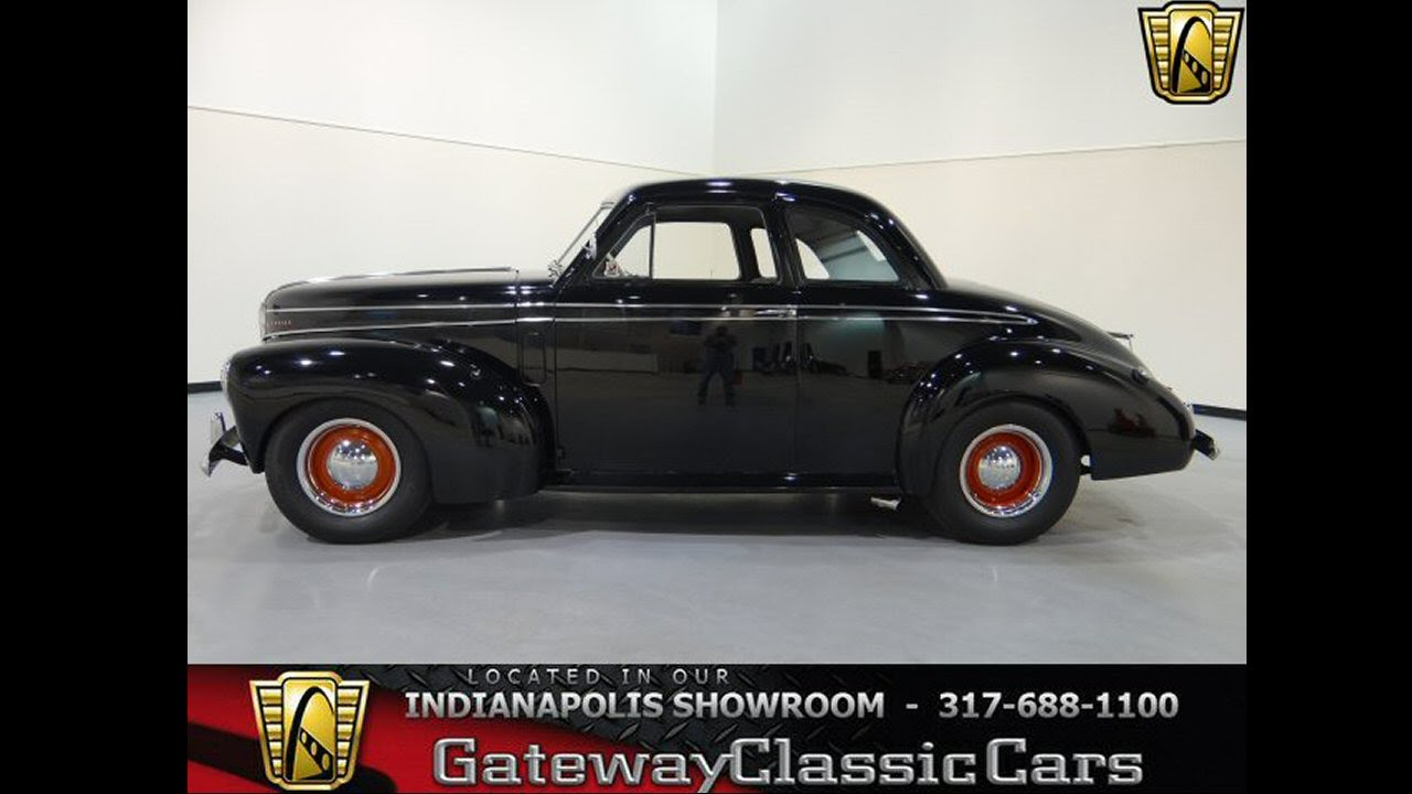 Cars For Sale Indianapolis >> #225 NDY - 1941 Studebaker 202 Coupe - Gateway Classic Cars - Indianapolis - YouTube