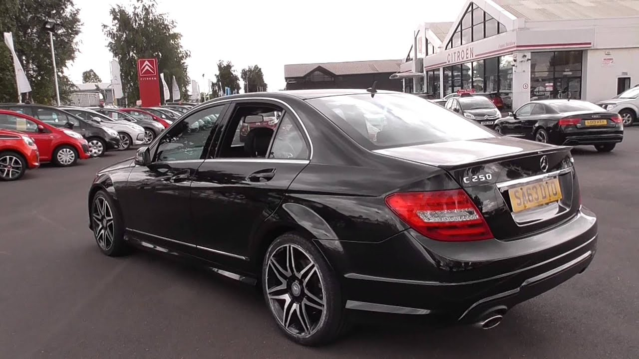 Mercedes Benz C CLASS C250 CDI BlueEFFICIENCY AMG Sport