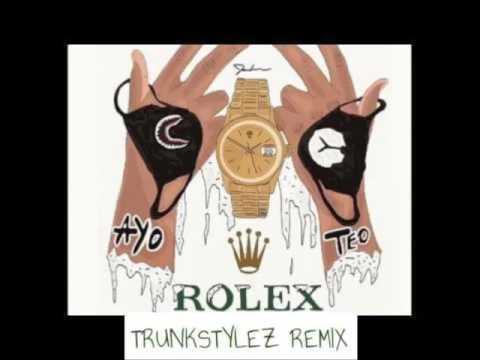Ayo & Teo - Rolex (Jersey Club/Trap) [Trunkstylez Remix] #RolexChallenge