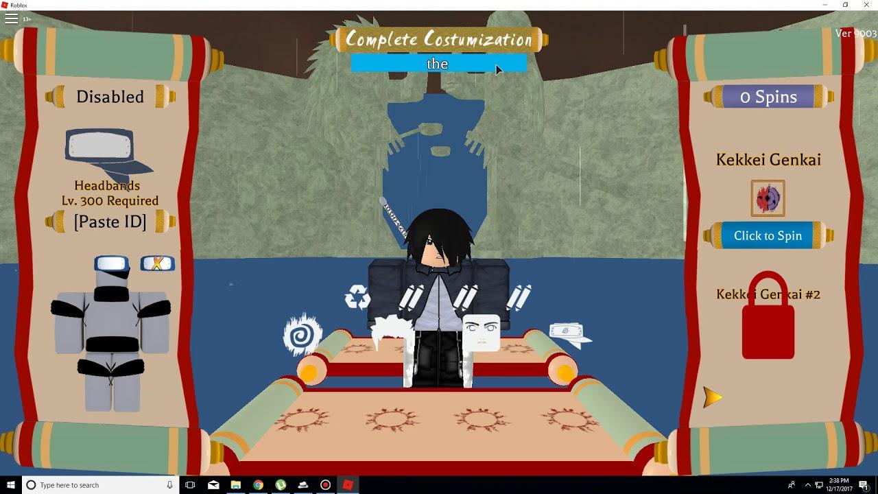 Roblox Shinobi Life 10 Spin Codes Version 9003 Youtube
