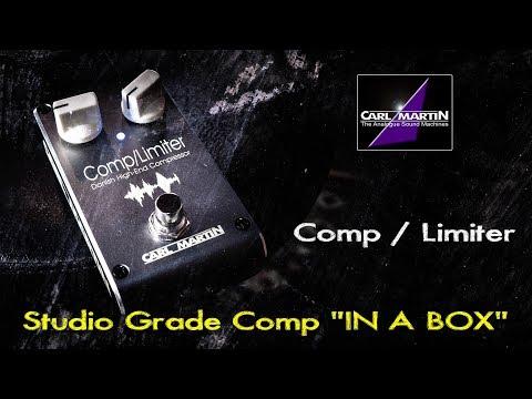 Carl Martin Comp / Limiter - Studio Grade Compressor