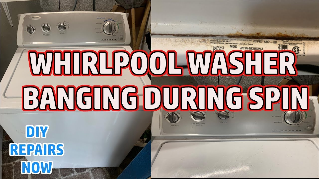 Whirlpool Washer Off Balance Banging On Sides Model Wtw4903xw3 Amana Admiral Maytag Kenmore