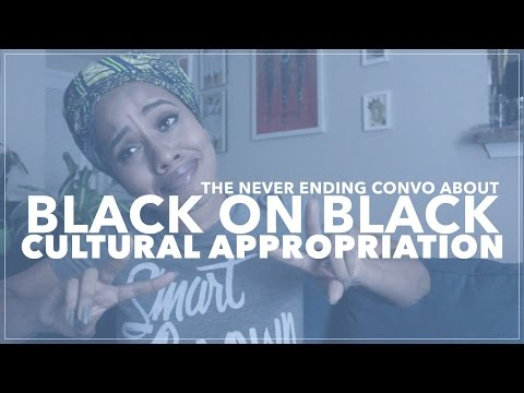 Cultural Appropriation & African Americans, Let's Dead this Convo #VEDA22