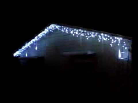 30cm 144 led meteor shower rain led light tube doovi. Black Bedroom Furniture Sets. Home Design Ideas