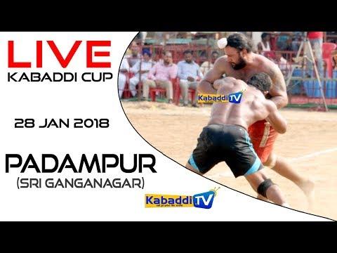 Padampur (Sri Ganganagar) Kabaddi Cup 28 Jan 2018 - www.Kabaddi.Tv