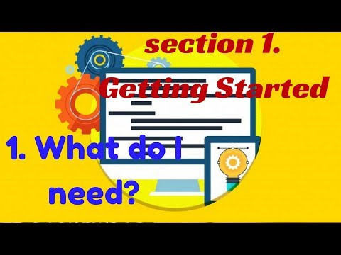 Web Development By Doing - HTML  CSS From Scratch (1  What Do I Need)