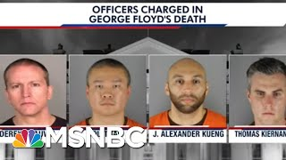 Emotional Minneapolis Protests As Officers Charged In Floyd's Fatal Arrest | The 11th Hour | MSNBC