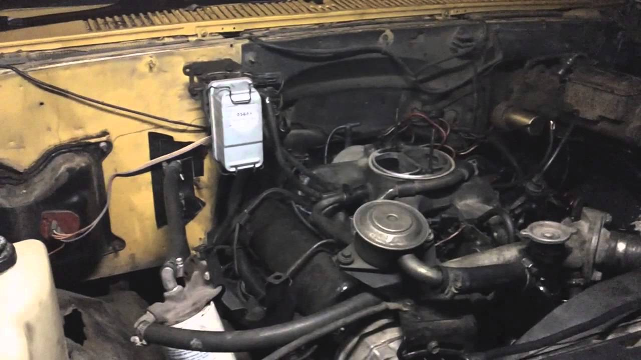 Chevrolet 6.2 Diesel >> The Detroit Diesel in the 1986 Chevrolet C30 dually flat bed LIVES AGAIN and no knock cold start ...