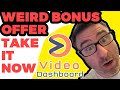 Video Dashboard Bonus | Best Video Dashboard Bonus: Get Video Dashboard here https://andyblack.convertri.com/video-dashboard Get my Video Link Machine Bonus here https://videolinkmachine.com/  Looking for the best Video Dashboard bonus? This is it.  In fact, this bonus is free right now.  You don't even need to buy Video Dashboard through myself.  But, it would be appreciated if you did.   My Video Dashboard bonus is a backlink building software that will instantly create 29 effective, high-authority backlinks that will push your Youtube videos higher up the Google search results.   It's brand-new, and it works like a charm!   Ok, Now Let's take a Look at Video Dashboard - What is it?   Video Dashboard is a new cloud-based software created by Paul Ponna that let's you create engaging videos for multiple social media and video platforms, and let's you schedule and publish to all of them.  TikTok, Youtube, Facebook, Instagram, and many more.   Paul Ponna is an online marketing expert, author, speaker and coach - and he creates amazing software that is extremely popular.  Paul Ponna is one of the leading affiliates and vendors on the JVZoo platform.   Paul Ponna has partnered again with Sid Diwar on the Video Dashboard project.   It goes live on February 11th @ 3pm EST.   Video Dashboard is the world's first all-in-one technology to find up to the minute trends, create stunning videos, and get lots of traffic on demand.   It allows you to publish to major social and video platforms such as TikTok, Reddit, Pinterest, Medium, Twitter, Facebook, Linkedin, Vimeo and Dailymotion.  All from one single dashboard.  This can drive a lot of traffic from different platforms to your video content.   To do this with multiple apps would take you a long time.  Factor in that you can customize done for you videos with your own text, logos and images etc.   Some of Paul Ponna's other software tools are ChatterPal, Video App Suite, eComContact, and Auto Money Formula.    To Get Video Dashboard and my Video Dashboard Bonus, go to the links below.   Get Video Dashboard here https://andyblack.convertri.com/video-dashboard Get my Video Link Machine Bonus here https://videolinkmachine.com/