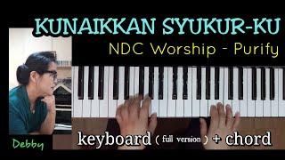 Download KUNAIKKAN SYUKURKU - NDC Worship - Keyboard Full Version Mp3
