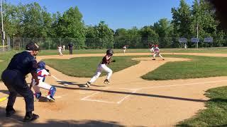 Brayden Baseball 07/18/2018: Hit (1): Seabreeze Tournament