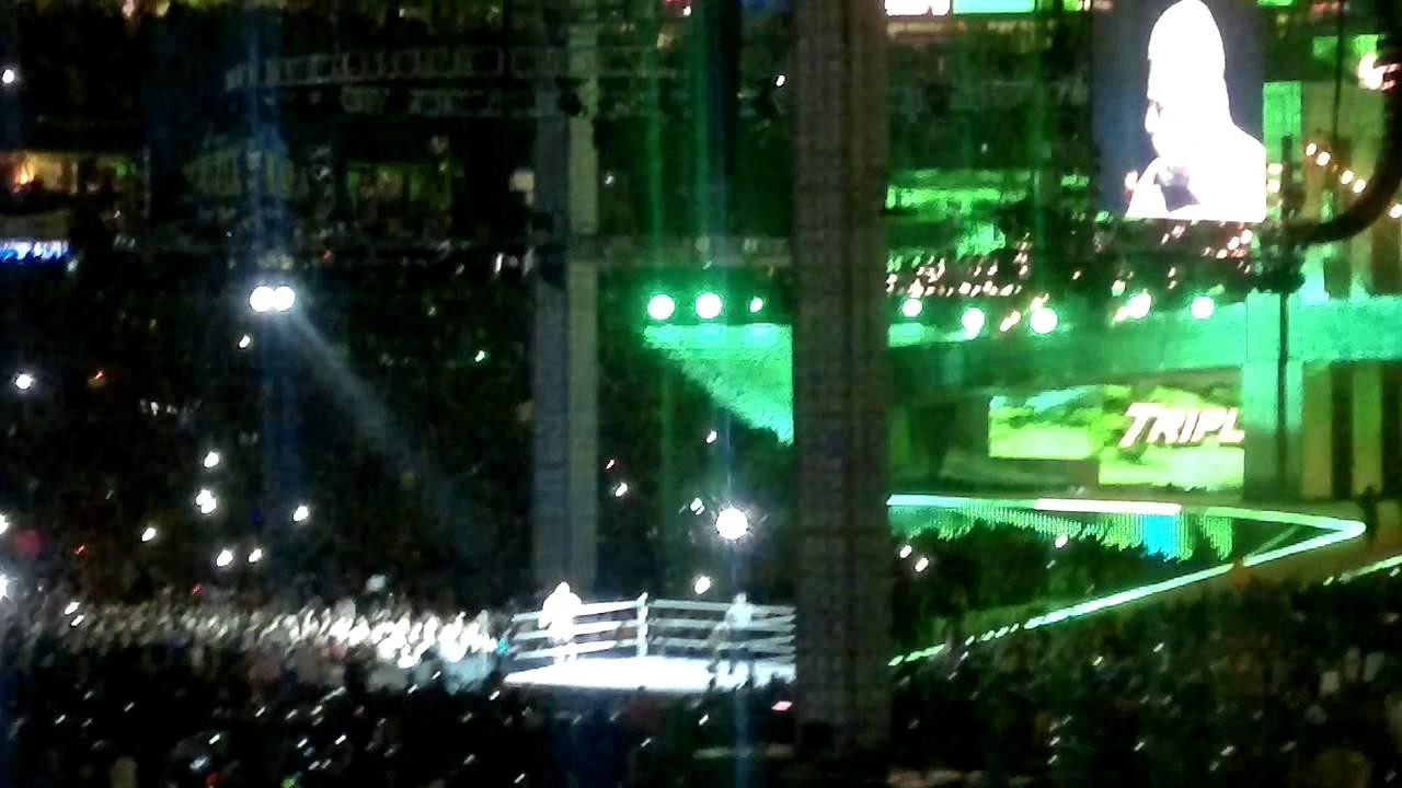 Triple H Wrestlemania 29 Entrance - YouTube