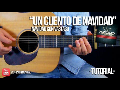 """""""Un cuento de navidad"""" Melissa Romero, Adrian Romero - ACORDES   TUTORIAL"""