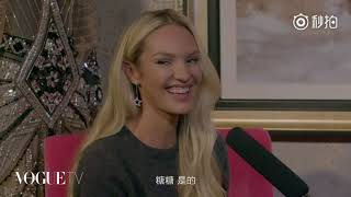 CANDICE SWANEPOEL Interviewed by LIU WEN for Vogue China HD