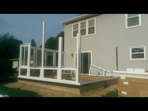 Woodland Exteriors Sunroom Construction