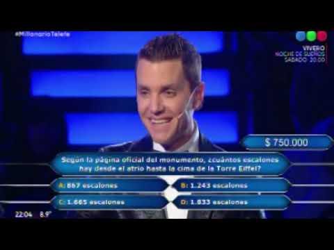 Qué respuesta no supo Susana que ganó 500 mil pesos en ¿Quién quiere ser millonario?