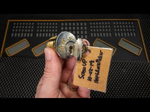 [301] Screwup Challenge Lock Returned from AJ Clark