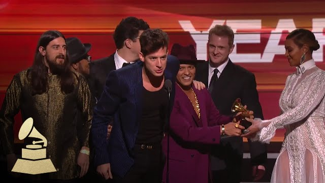 Download Mark Ronson & Bruno Mars | Record of the Year | 58th GRAMMYs