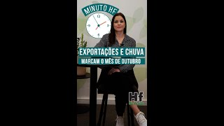 MINUTO HF: Exportações de frutas e chuvas podem alterar preços no Brasil