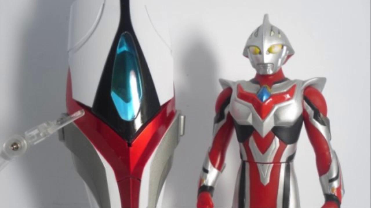 Ultraman Nexus Toys Collection Youtube