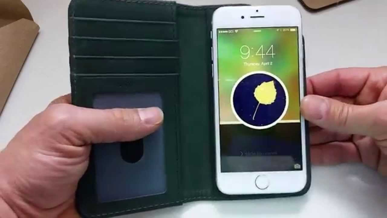 reputable site 7de8a 6be6f Pad & Quill Bella Fino iPhone 6 Leather Wallet Case Review