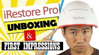 iRestore Review - iRestore Professional Laser Hair Growth System Unboxing & 1st Impressions