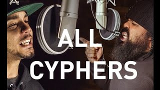 Repeat youtube video Tech N9ne - ALL Strangeulation Vol. II CYPHERS