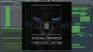 Vocal Trance FL Studio Template Vol. 1 [Beat Service Style]