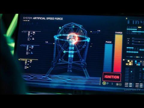 Попытка создать искусственный Спидфорс | Флэш 6 сезон 17 серия
