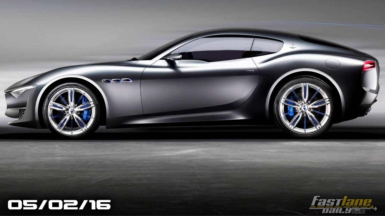 Maserati Alfieri Price >> Maserati Alfieri Coming, McLaren Selling Near New F1, Fiat 124 Spider Price - Fast Lane Daily ...
