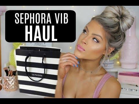 Sephora VIB sale HAUL 2018 | Valerie Pac