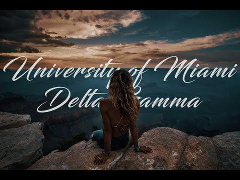 Delta Gamma: University of Miami 2018