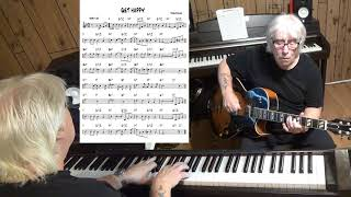 GET HAPPY - Jazz guitar & piano cover ( Harold Arlen )