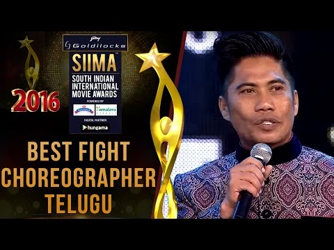 Siima 2016 Best Fight Choreographer Telugu | Peter Hein - Baahubali Movie