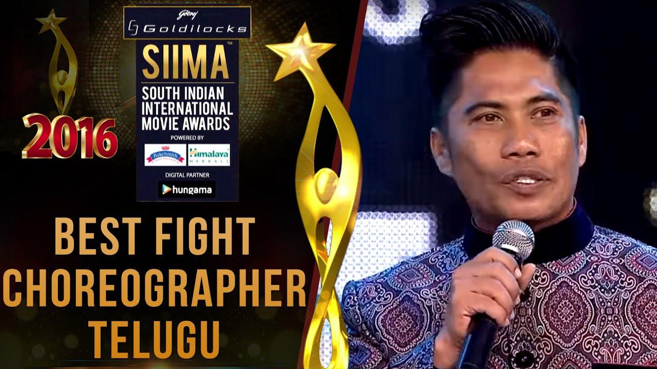 Siima 2016 Best Fight Choreographer Telugu | Peter Hein - Baahubali Movie