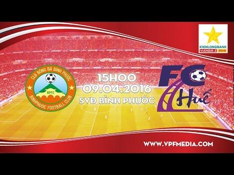 Bình Phước vs CLB Bóng đá Huế