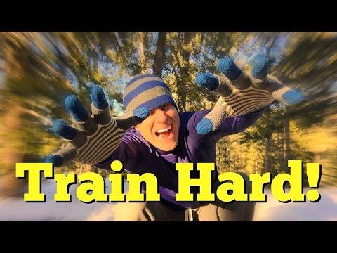 TRAIN HARD! Push Ups, Planks, Pilates & Power Yoga Fat Burning Home Workout *The Sequel!