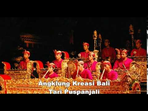Angklung Kreasi Bali Tari Puspanjali