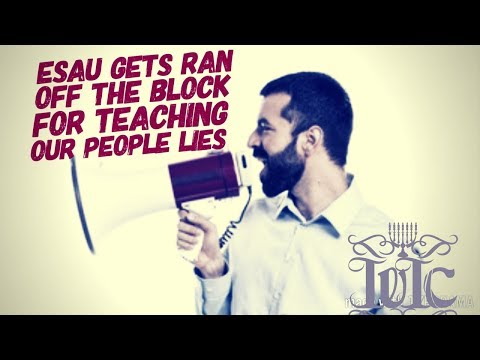 The Israelites: Esau Gets Ran Off The Block For Teaching Our People Lies