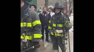 NYFD Puts Out Fire At Yeshiva Dormitory - 749 Eastern Parkway