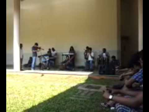 NIT Goa's first band performing Paradise and Aicha at Waves 2014