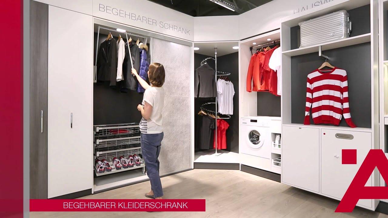 Schranksysteme Begehbarer Kleiderschrank auch für einen begehbaren kleiderschrank bietet die fa häfele ein