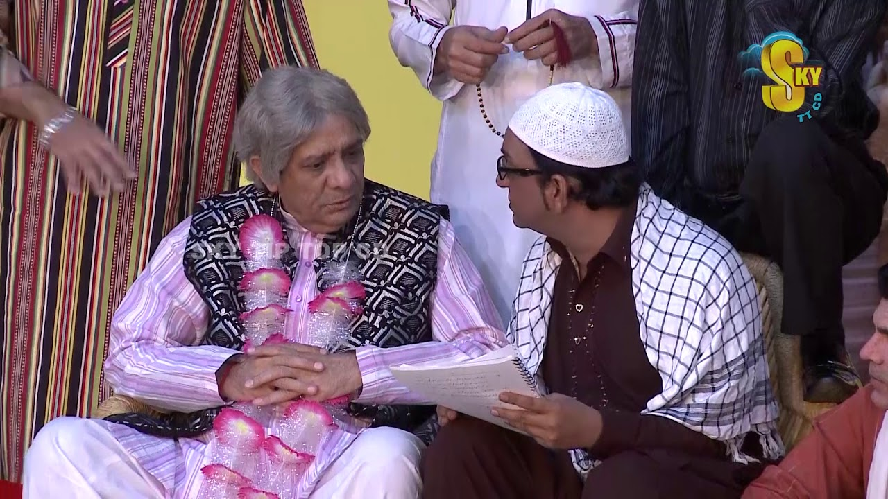 Zafri Khan Tariq Teddy and Iftikhar Thakur Stage Drama Budhay Shararti 2 Full Comedy Clip 2019