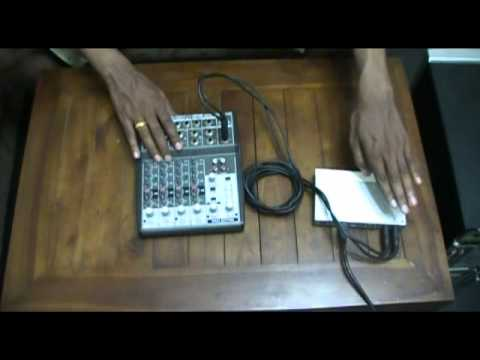 How to setup Behringer Firwire Podcast Studio - Part 1